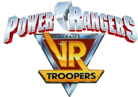 Power Rangers VR Troopers Logo