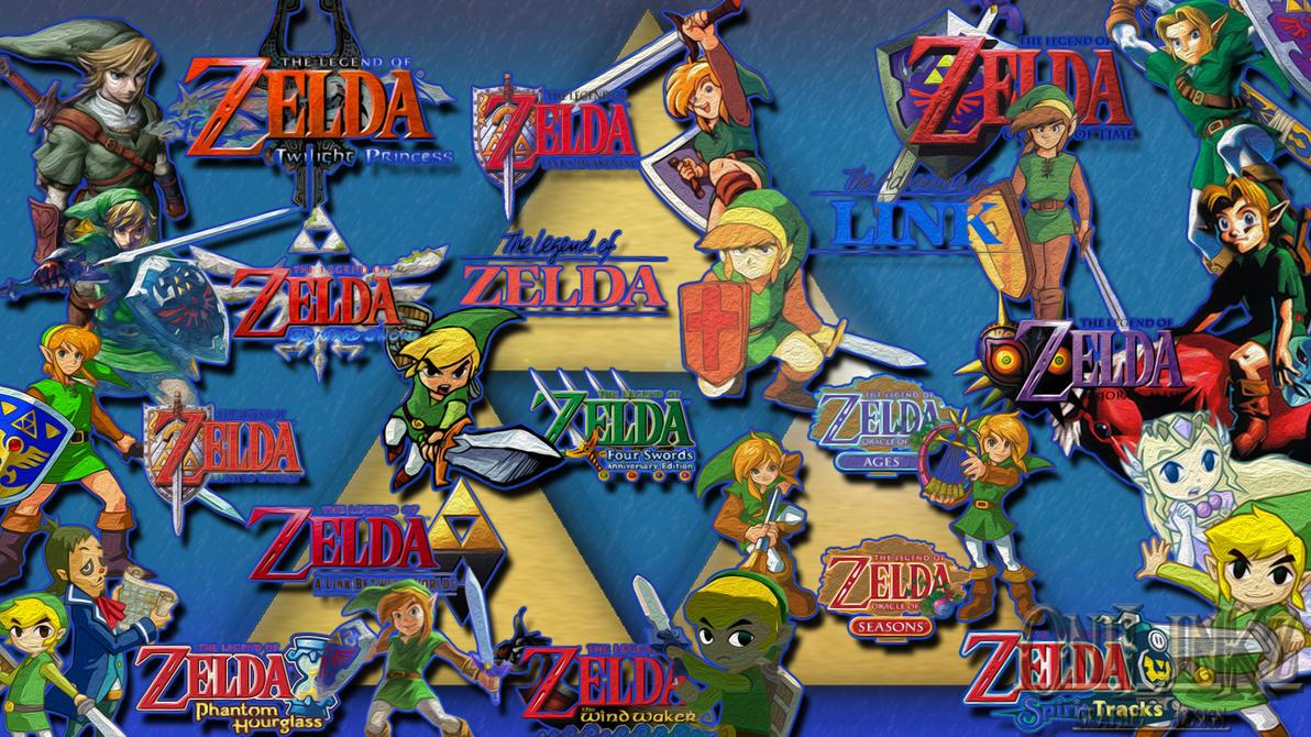 1080p Zelda Wallpaper: Zelda Wallpaper 1080p Link's History By 0nilinkz On DeviantArt