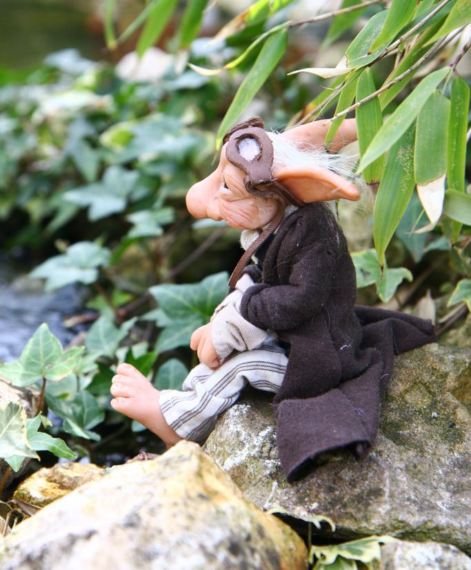 Nym, enjoying our garden by ShirleysStudio