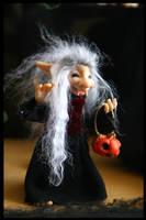 Halloween Vampire Troll by ShirleysStudio