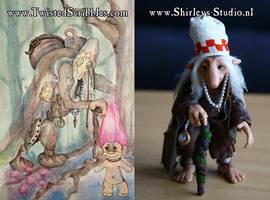 Twisted Scribbles Troll by ShirleysStudio