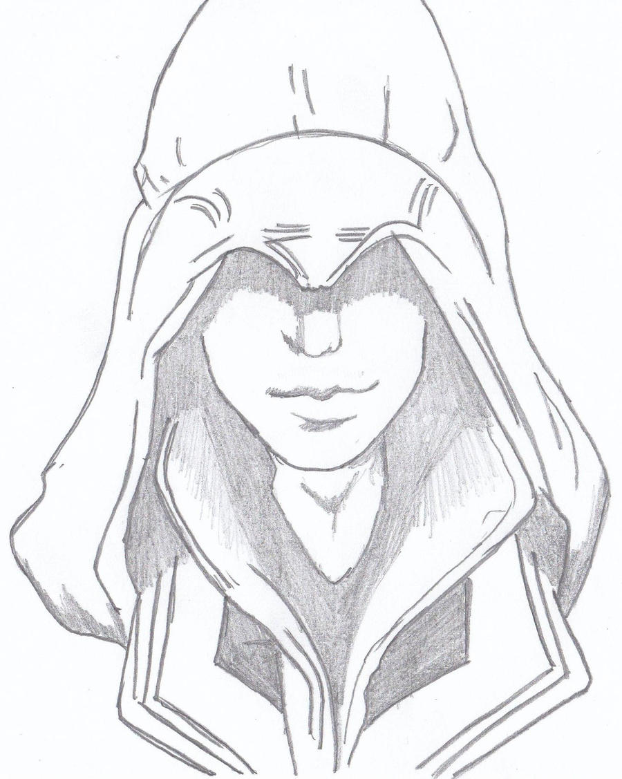 Ezio Auditore_Assassin Creed by Lasconi on DeviantArt