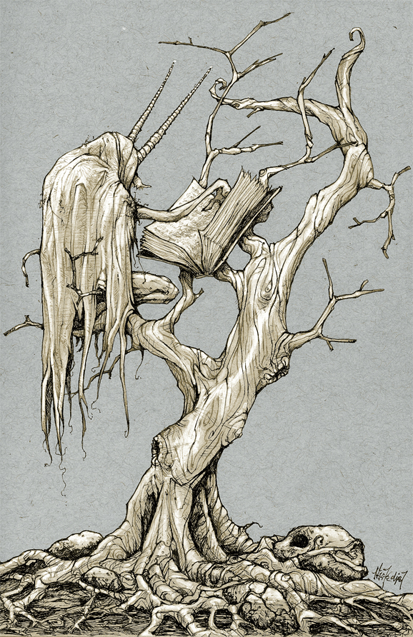 tree of the beast by nicktheartisticfreak