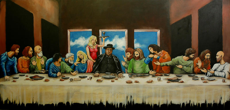 b.i.g. last supper by nicktheartisticfreak