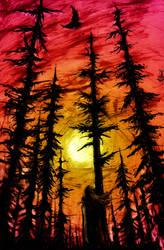 Sunset by nicktheartisticfreak