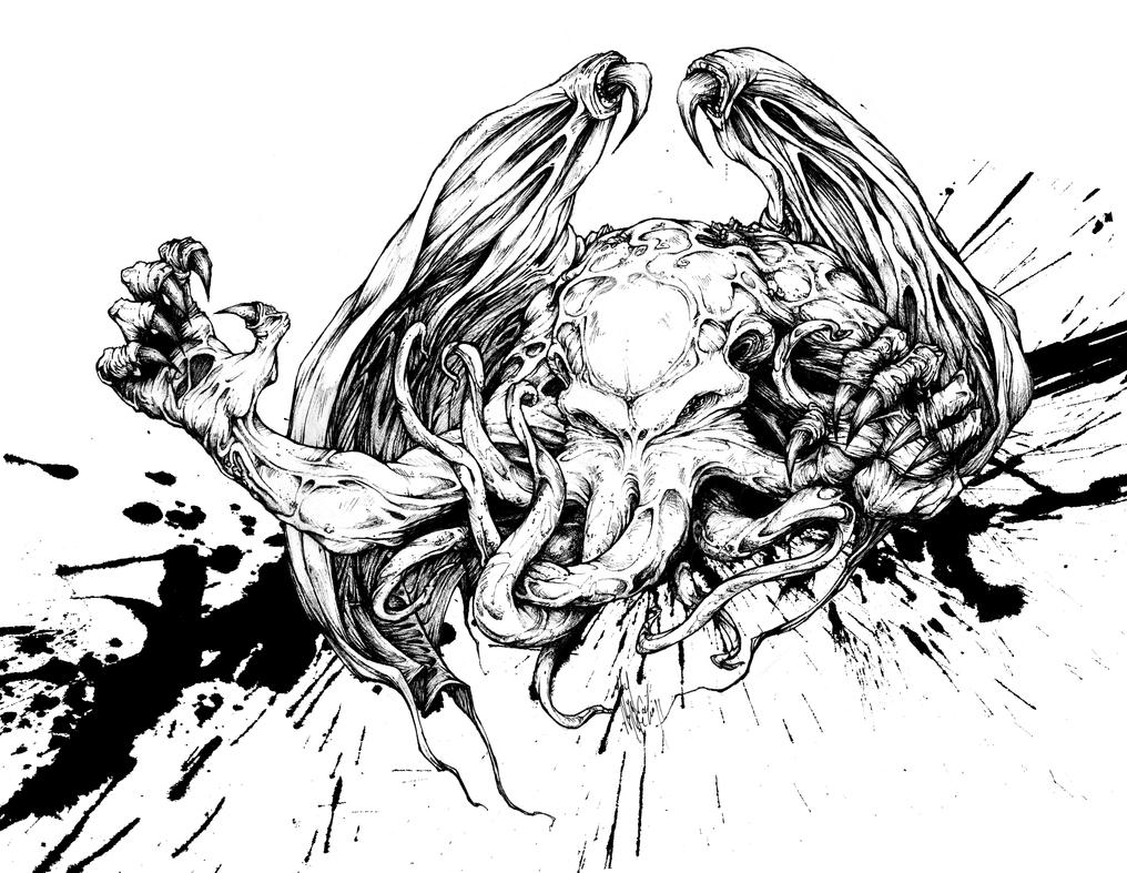 Cthulhu by nicktheartisticfreak