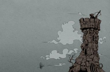 Goblin Tower by nicktheartisticfreak