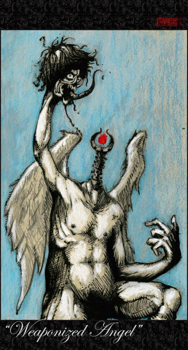 weaponized angel by nicktheartisticfreak