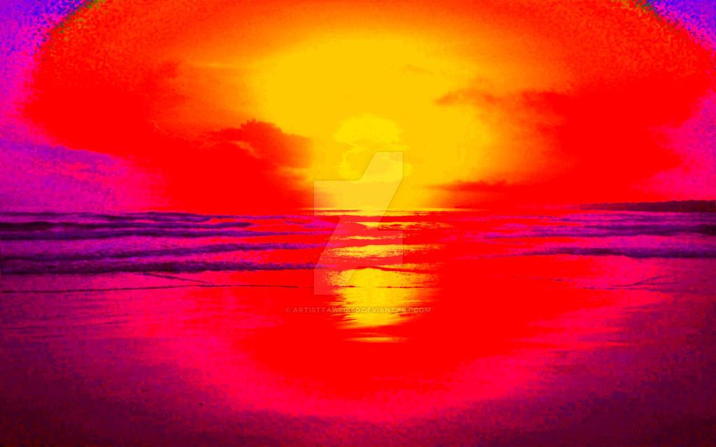 Light explosion by artisttawfik60