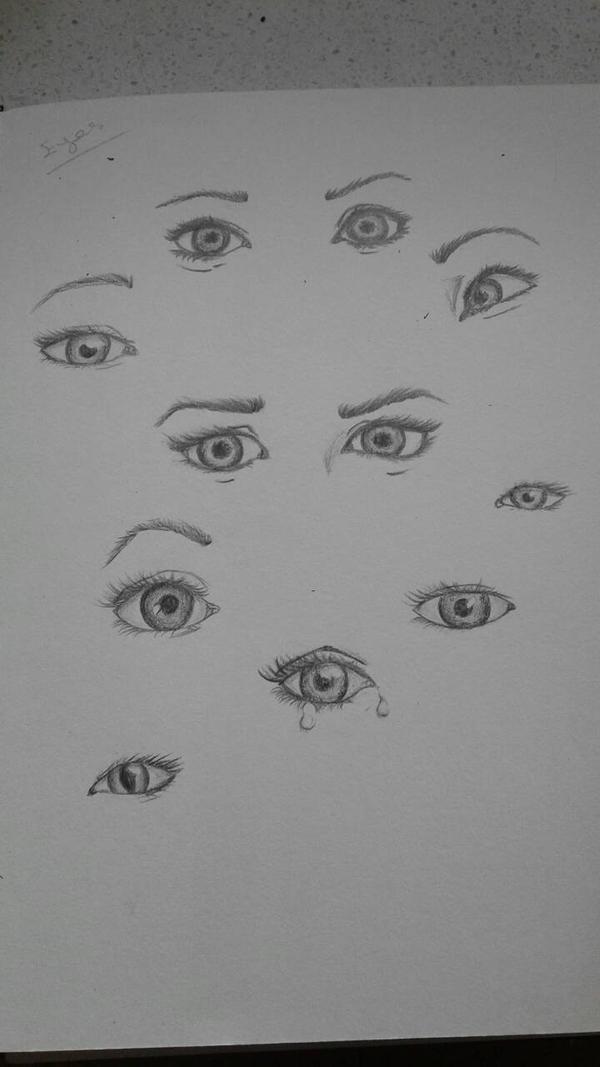Eye practice  by Skar004