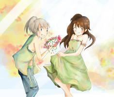Couronne de fleur by Pich-Hana