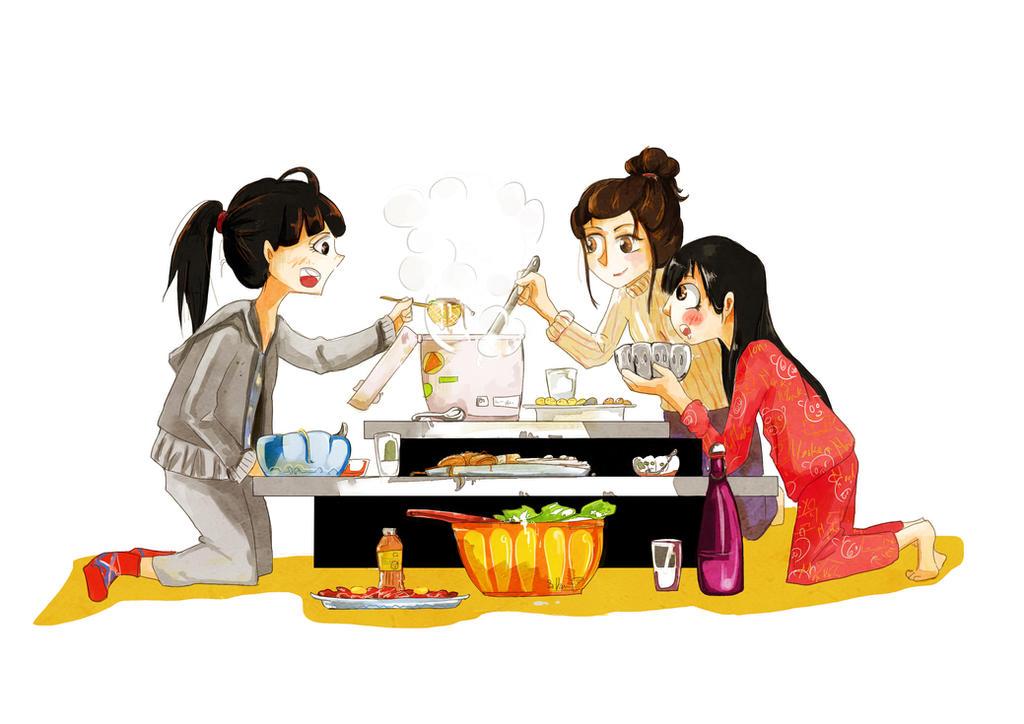 Hot pot by Pich-Hana