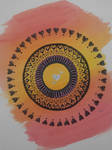 Circle mandala by MUMTAHA