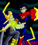 SuperMan X Vs. Mirai Trunks