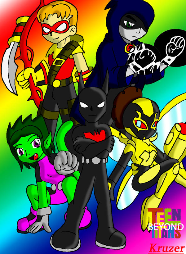 Teen Titans Beyond By Kcruzer On Deviantart-9747