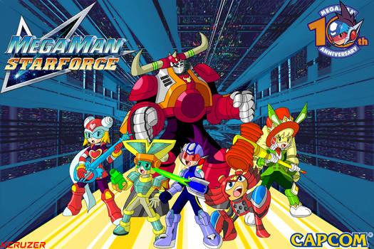 Mega Man Star Force Team poster