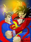 SuperMan Vs. Goku