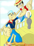 Popeye Vs. Luffy