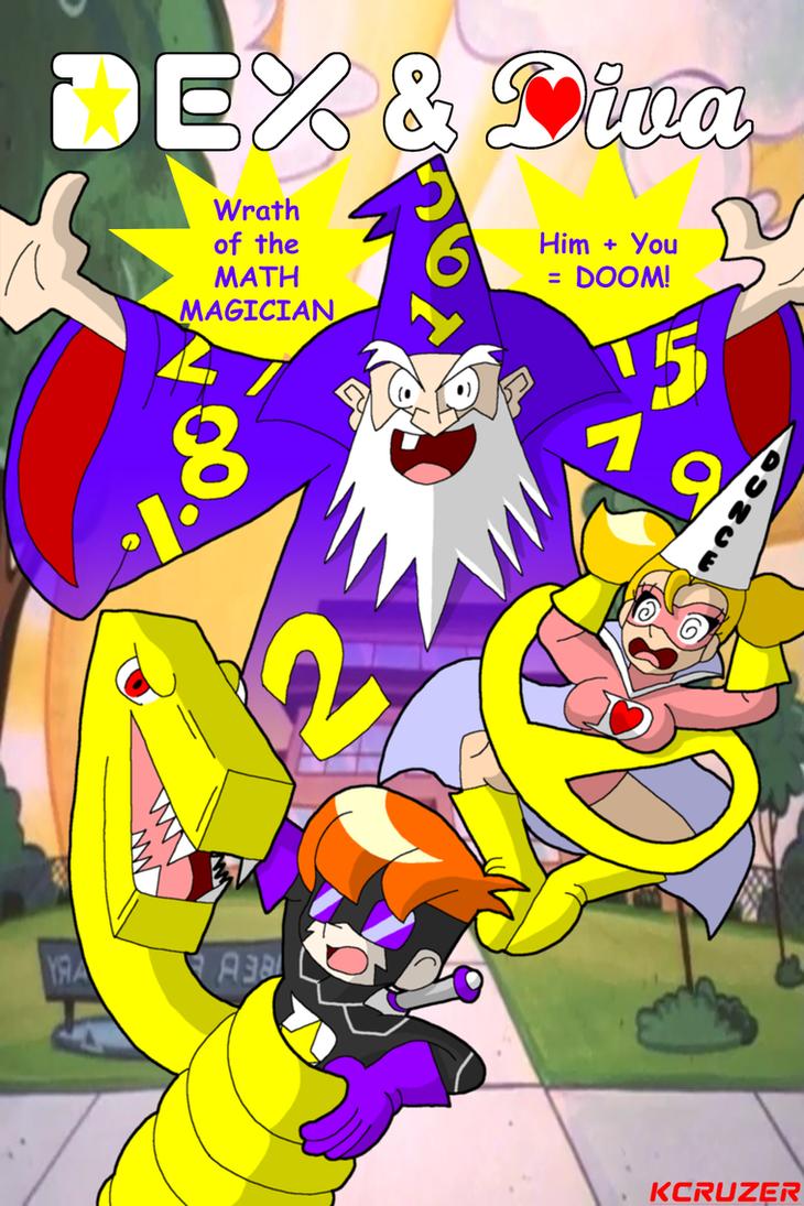 Dex and Diva Vs. The Math Magician by KCruzer