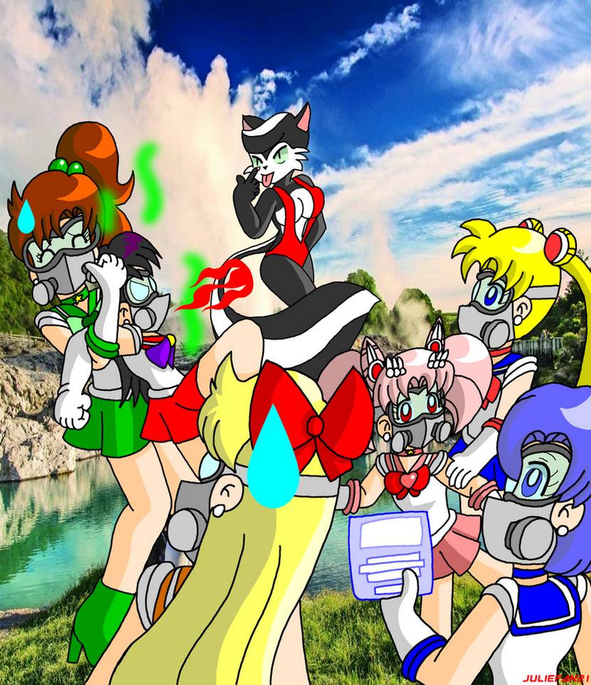 Sailor Moon's Skunky escapee by KCruzer
