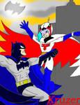 The BatMan Vs. GatchaMan