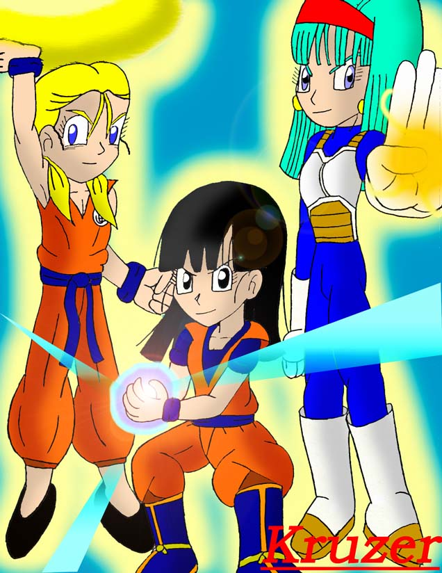 The DBGT Girls by Kruzer
