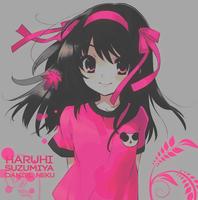 Haruhi-Suzumiya-Colors-pink_01 by Daniel-Neku