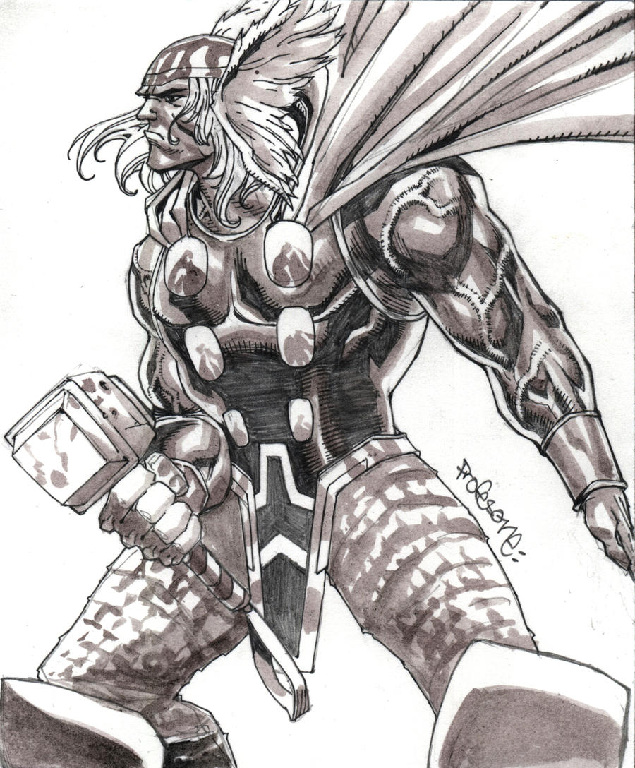 New Thor Cards by profesone