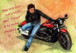 Harley Davidson by AurelGweillys