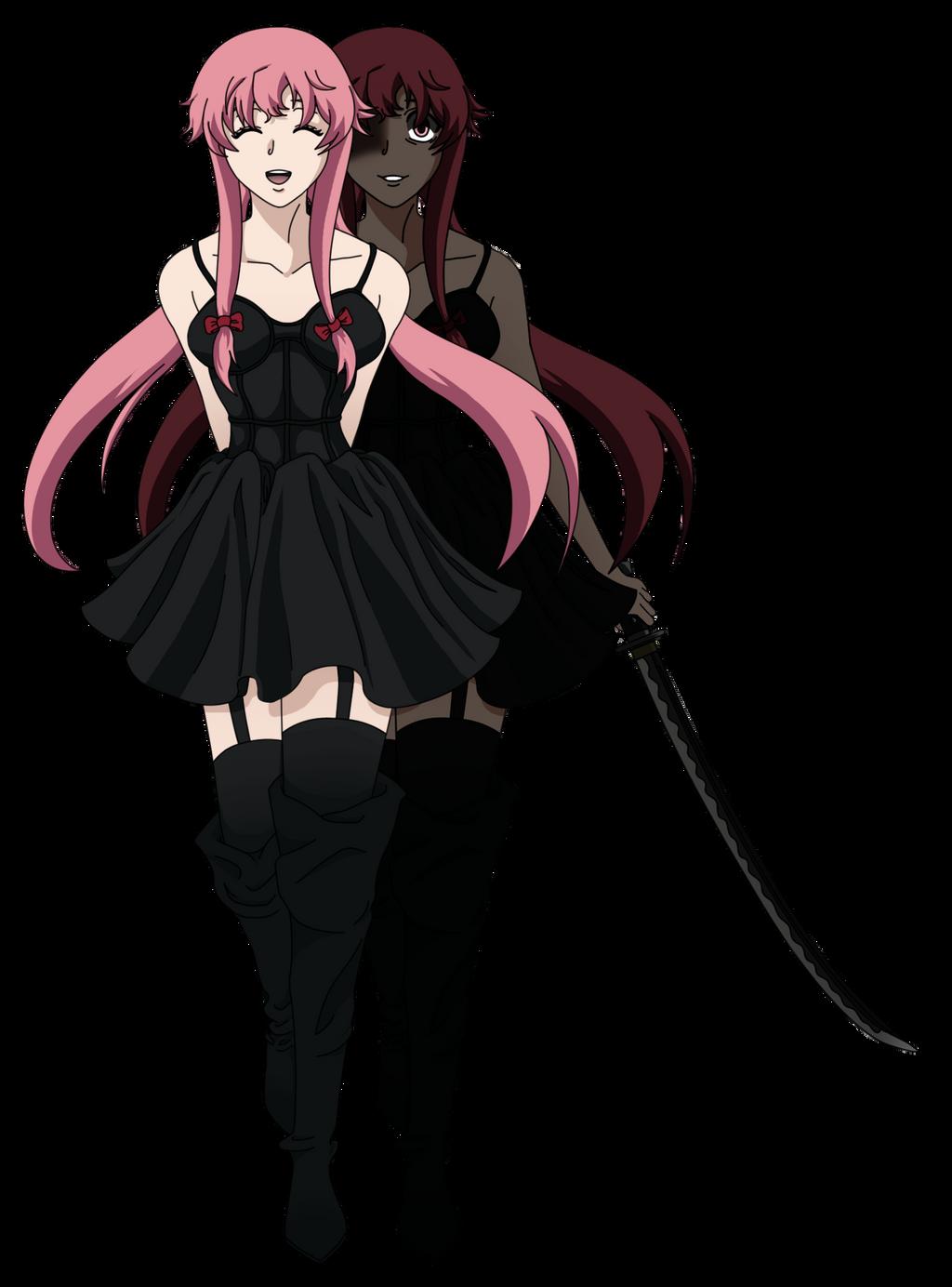 Gasai Yuno Mirai Nikki By AwesomeXxO