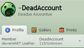 DeadAccount by TrollTrapper