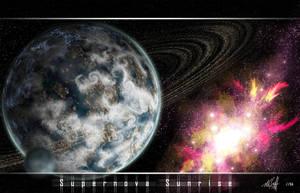 Supernova Sunrise by moffett