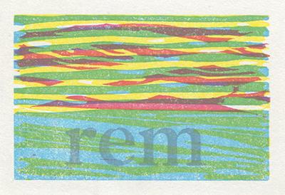 REM print by WorldsCollideWeb