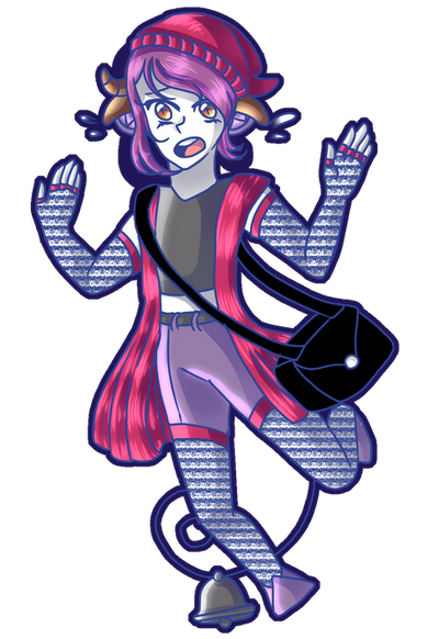 Negix - L is for Lunatic  by Dorydraws