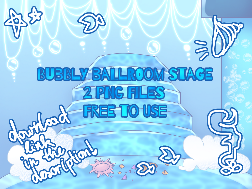 BG - Bubbly Ballroom Stage  by Dorydraws