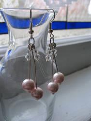 Cherry Pearl Earrings by maytel