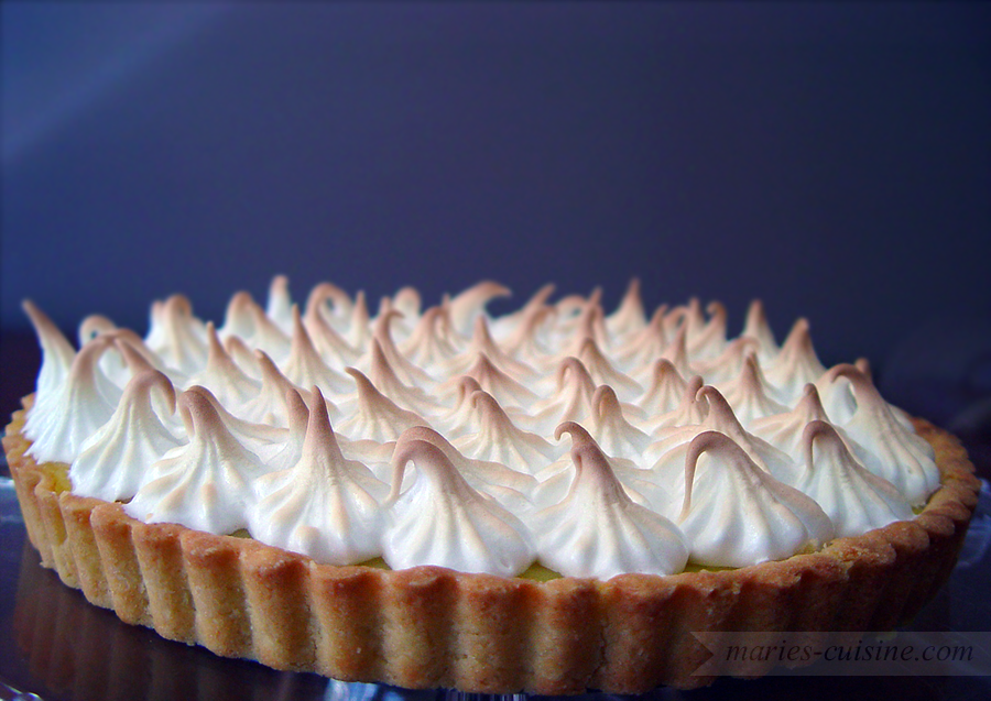 Lemon and Swiss Meringue Pie by maytel