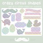 crazy circus shapes