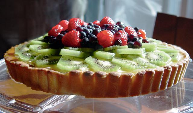 Fresh Fruit Tart by maytel