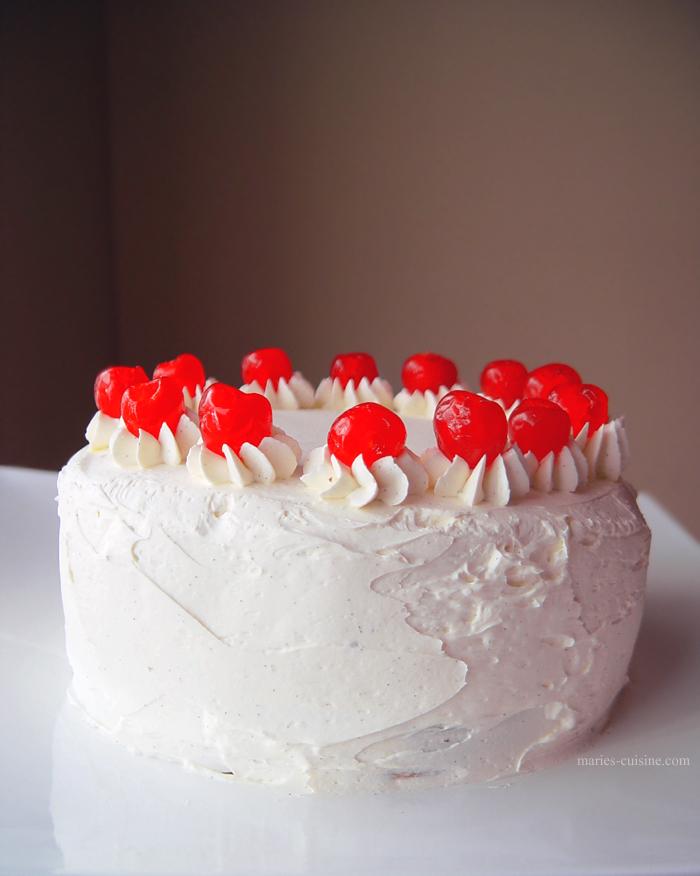 Cherry Vanilla Cake by maytel