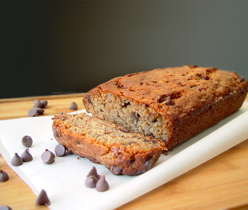 Peanut Butter Banana Chocolate Chip Bread by maytel