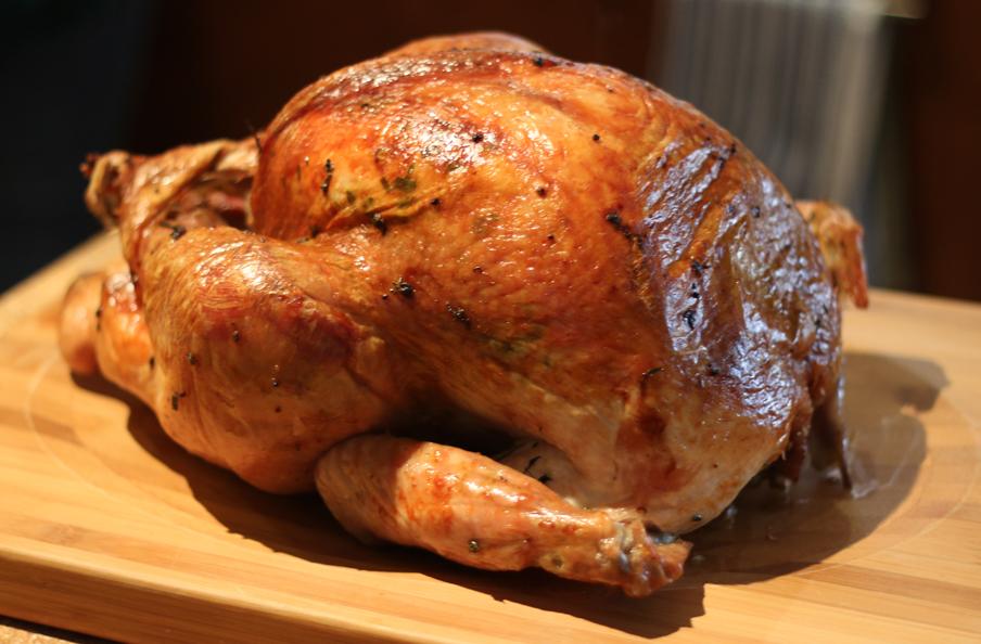 Herb-Roasted turkey by maytel