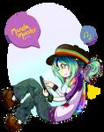 Rainbow Hobo Princess