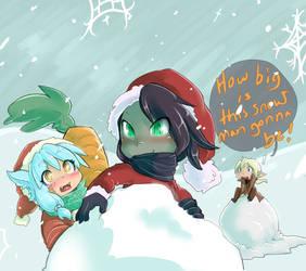 Wannn build a snowman?