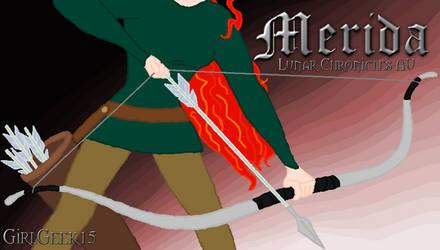 Merida The Lunar Chronicles AU by GirlGeek15