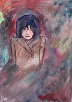 Syd Barrett by hellotherelittlebug
