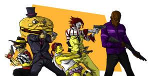 The Playland Gang by SonnySixkiller