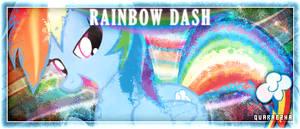 [Sig] Tagwall | Rainbow Dash by Paradigm-Zero