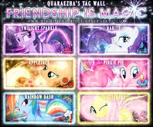 Friendship is Magic Tag Wall