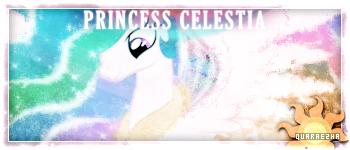 [Sig] Tagwall | Princess Celestia by Paradigm-Zero